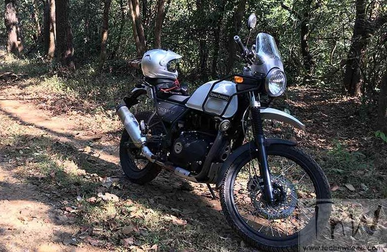 Royal Enfield Himalayan official images out. First impressions