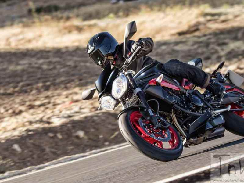 Triumph Street Triple RX 'Black' edition launched