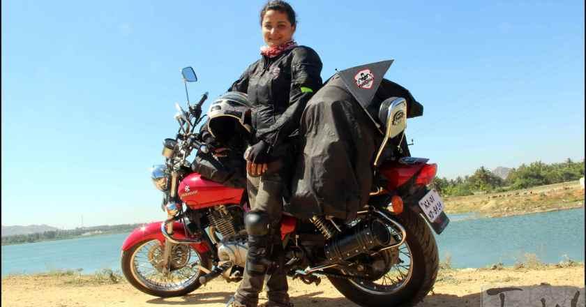 Biker Esha Gupta to attempt 38,000kms,17 states in 110 days