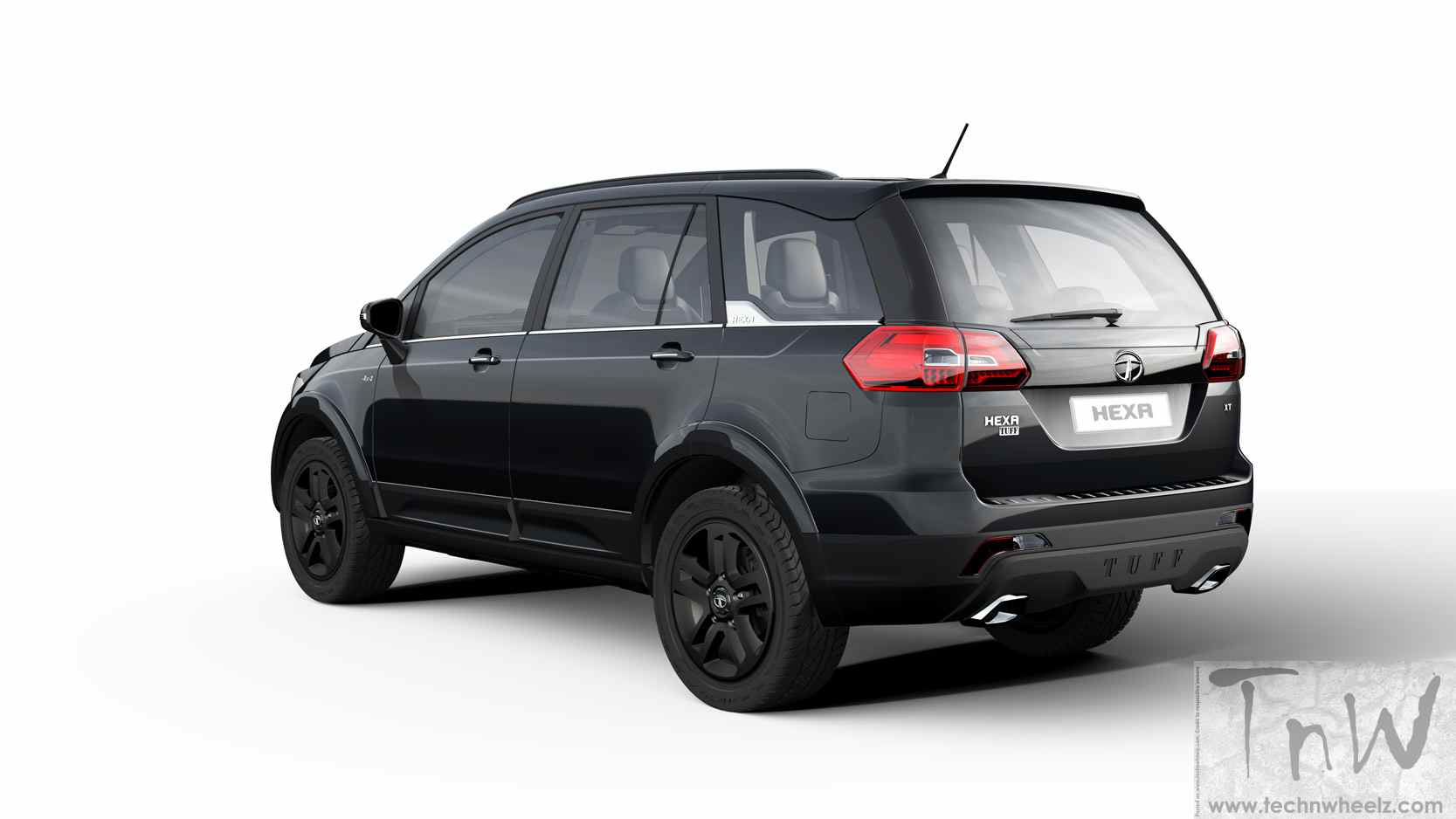 tata motors aria based hexa and hexa tuff unveiled. Black Bedroom Furniture Sets. Home Design Ideas