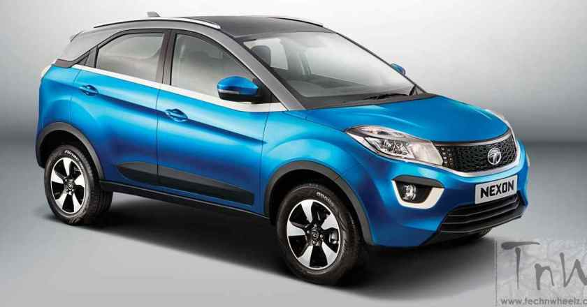 Tata Nexon to take on Ecosport, TUV300 and Vitara Brezza