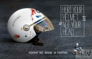 Part 1: Honest advice that will make you buy a motorcycle helmet- The Construction