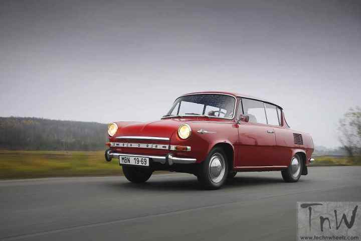 ŠKODA 1000 MBX turns 50. First debut at Geneva Motor Show in March 1966.