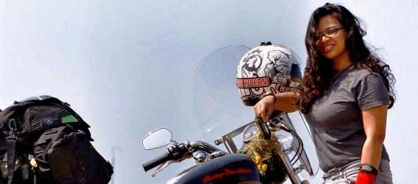 World Women Riders: Anjaly Rajan, founder of 'The Riderni'