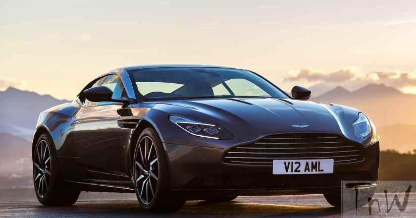 2017 Aston Martin DB11 with 600bhp and twin turbo debuts at Geneva