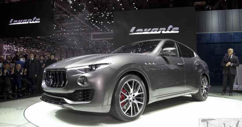 Maserati debuts the Levante @ Geneva, the brand's first SUV