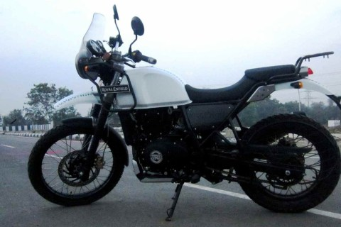 Royal Enfield Himalayan review. Detailed image gallery inside