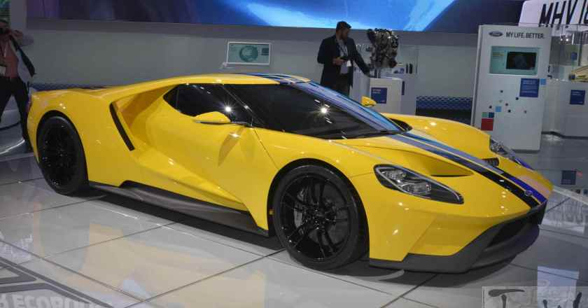 Images: Ford GT @ 2016 New York International Auto Show