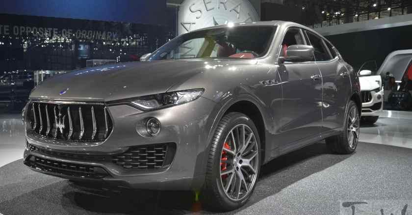 Images: Maserati Levante @ 2016 NewYork Auto Show