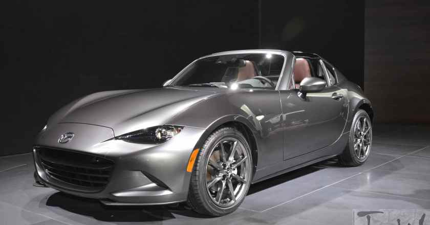 Mazda MX-5 RF. The Fastback you've been waiting for !!