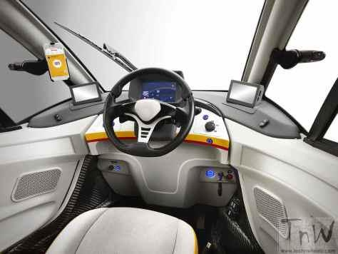 Shell Concept Car dashboard