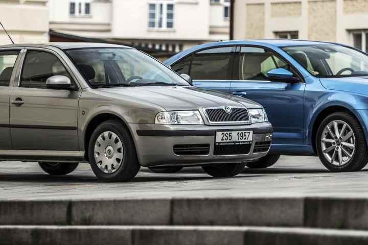 Skoda Auto celebrates 20th Bday of the Octavia saloon
