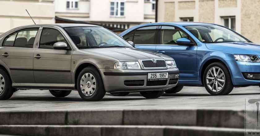 Skoda Auto celebrates 20th Bday of the Octavia saloon