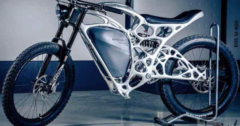 Light Rider – World's first 3D-printed e-bike by Airbus group