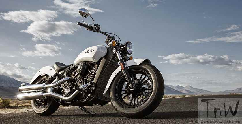 2016 Indian Scout Sixty launched at INR 11.99 lakh