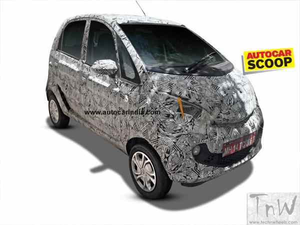 Tata Pelican spotted under heavy camouflage. Interiors revealed