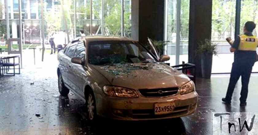 Man crashes car to Nexon headquarters. Blames company for game addiction