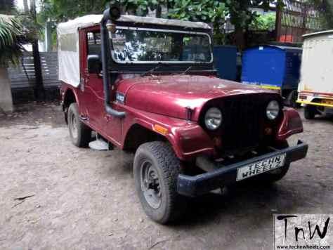 1994 Mahindra 540DP 4WD
