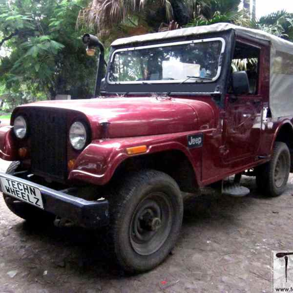 TnW MotoMart: 1994 Mahindra 540DP 4WD Jeep for sale