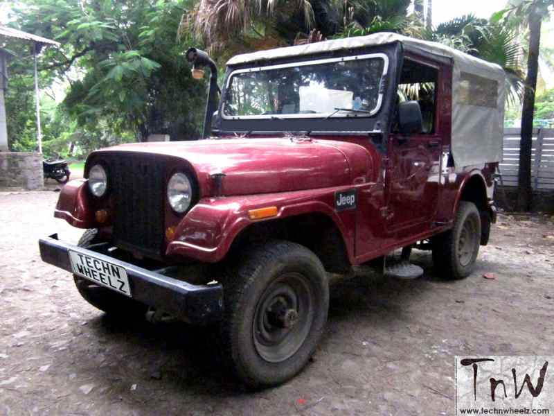 TnW MotoMart: 1994 Mahindra 540DP 4WD Jeep for sale