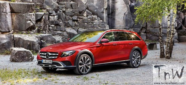 Paris Motor Show: 2017 Mercedes-Benz E-Class All-Terrain revealed