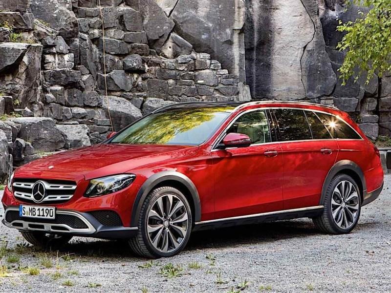 Paris Motor Show: 2017 Mercedes-Benz E-Class All-Terrain revealed