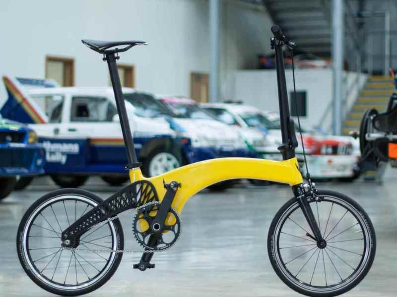Prodrive Hummingbird is the world's lightest folding bike