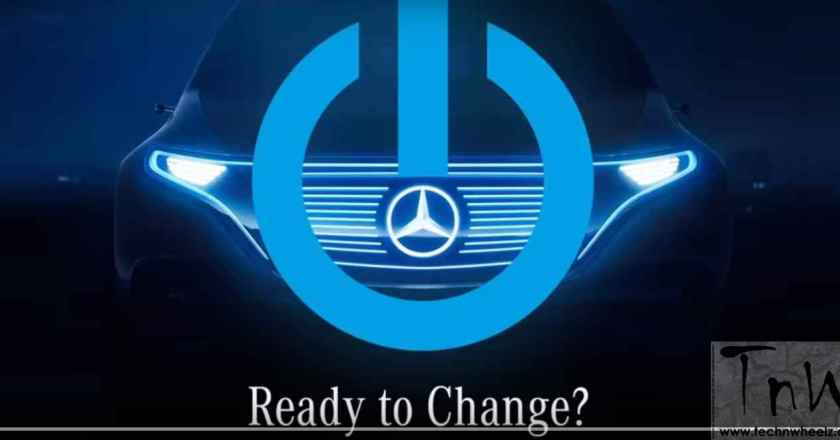Paris Motor Show: Mercedes-Benz ready for a change. Teases EV