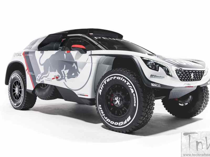 Peugeot 3008 DKR ready for Dakar Challenge