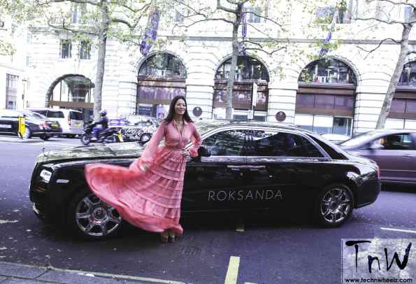 Rolls-Royce teams up with Roksanda for London Fashion Week