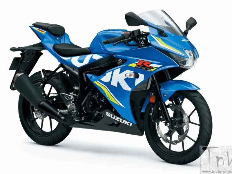 INTERMOT 2016: 2017 Suzuki GSX-R125, new entry-level Gixxer unveiled
