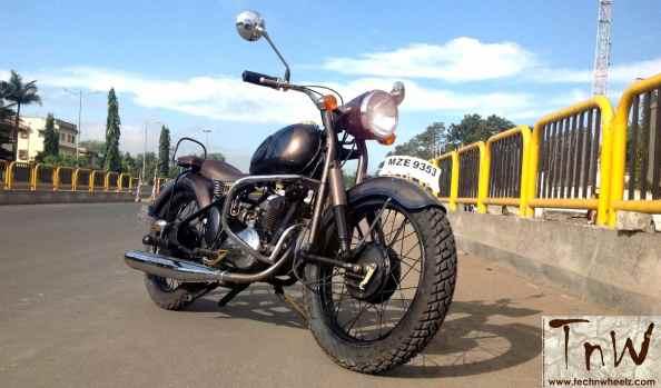 RAJDOOT-175 REMASTERED by Ayas Custom Motorcycles