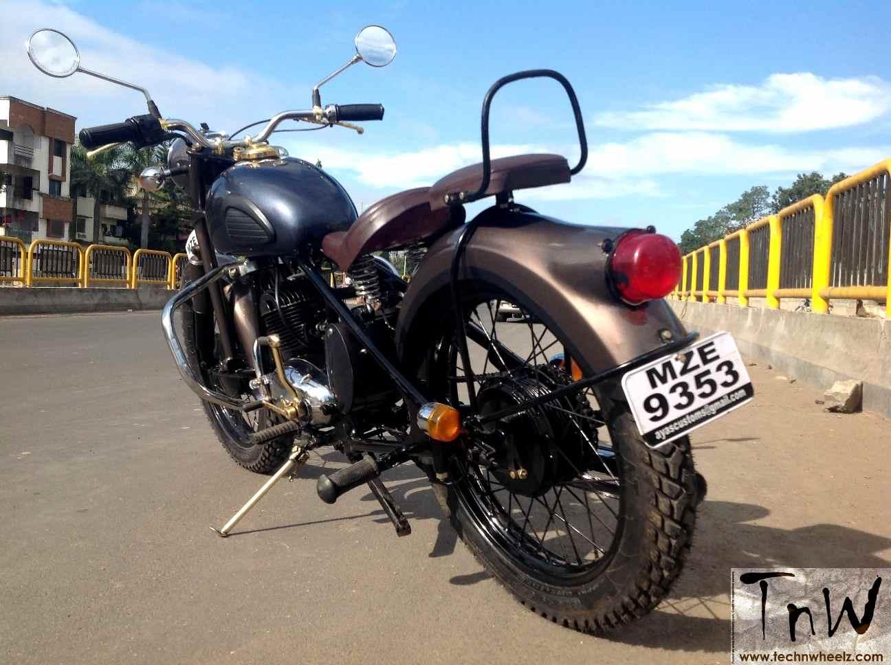 RAJDOOT-175 REMASTERED by Ayas Custom Motorcycles – TECH 'N