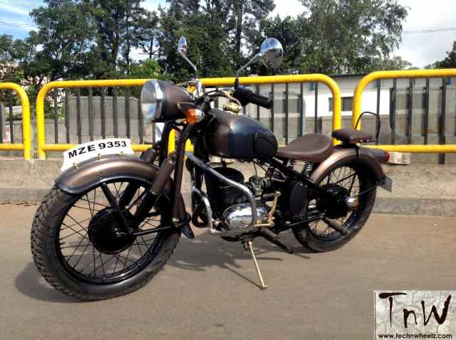 RAJDOOT-175 REMASTERED by Ayas Custom Motorcycles – TECH 'N WHEELZ
