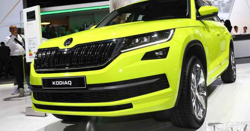 Paris Motor Show: Skoda Kodiaq, brand's first 7-seat large SUV