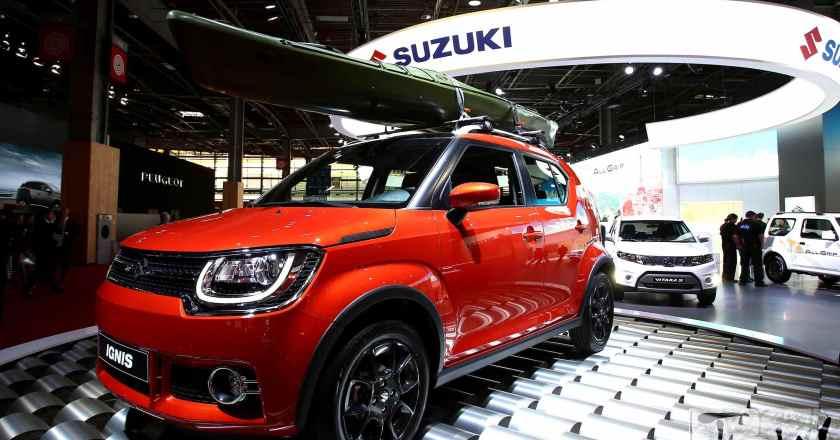 Paris Motor Show: Suzuki Ignis compact crossover
