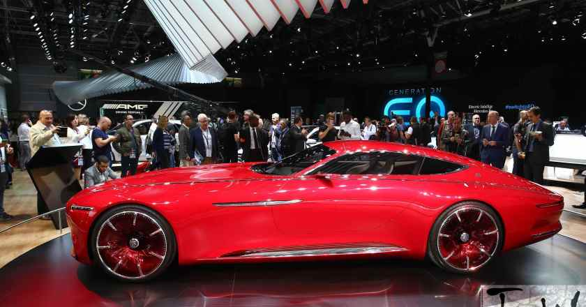 Paris Motor Show: Vision Mercedes-Maybach 6 luxury-class coupé
