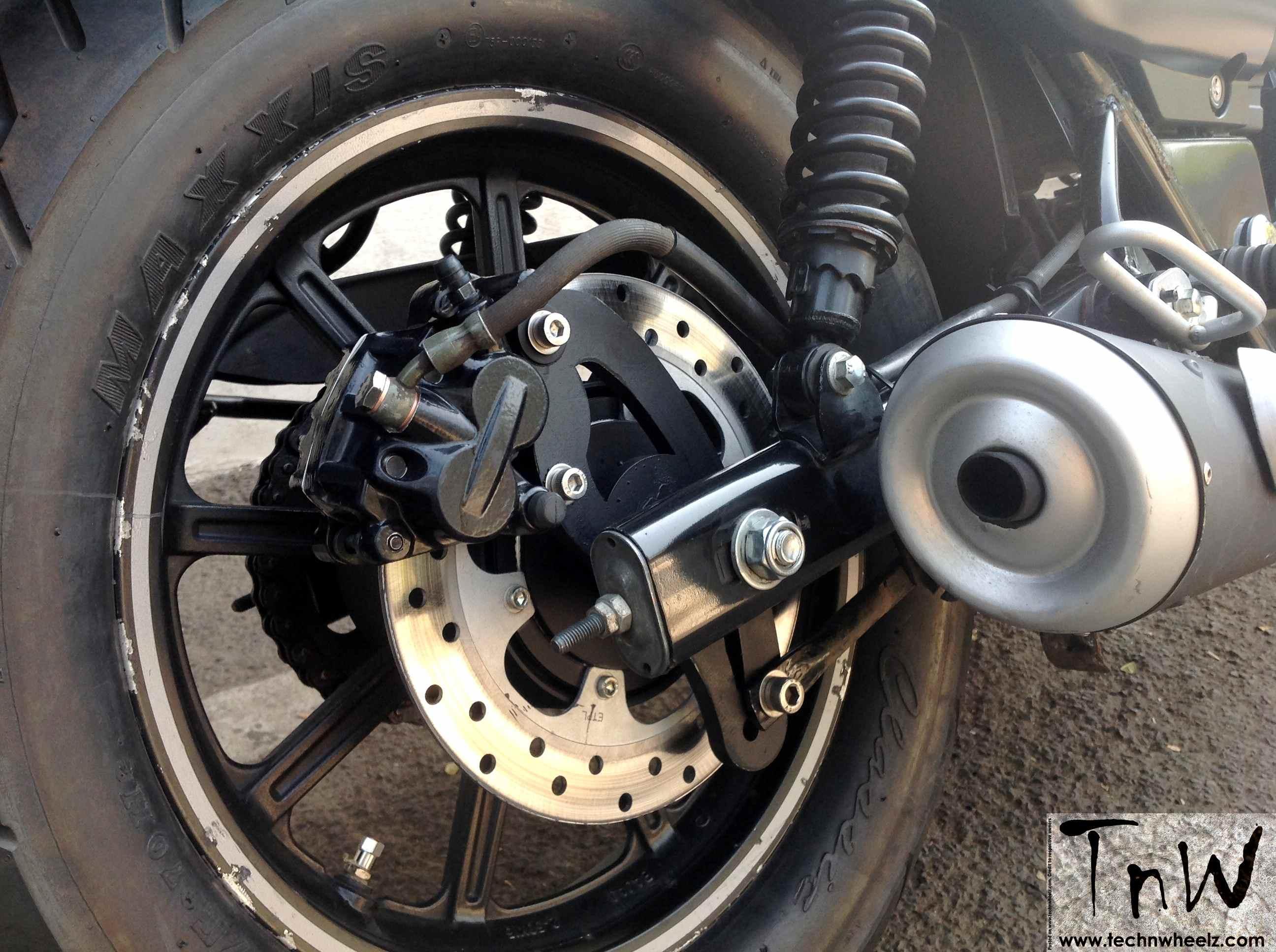 Bajaj Avenger Street 220 Gets Rear Disc And Hydraulic Clutch Brakes Westland Customs 7 Rotor