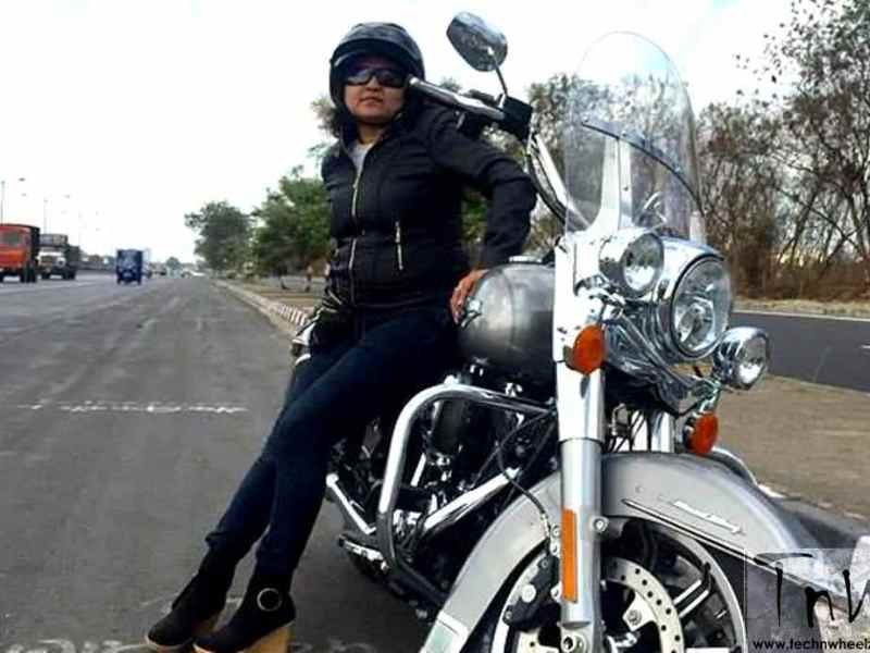 World Women Riders: Sunita Mande and her craze for Harley-Davidson