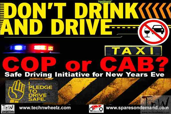 Cop or Cab? Safe driving initiative for New Year's Eve