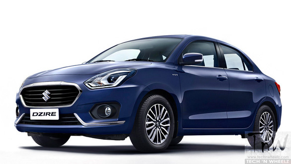 3rd generation Maruti Dzire unveiled. Launch on May 16, 2017
