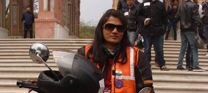 In conversation with Vaishali Bhagat Master- Jaipur's Bikerni head