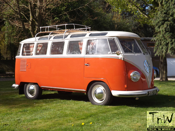 1959 VW Camper van 'Holy Grail' for auction at the Warwickshire Exhibition Centre