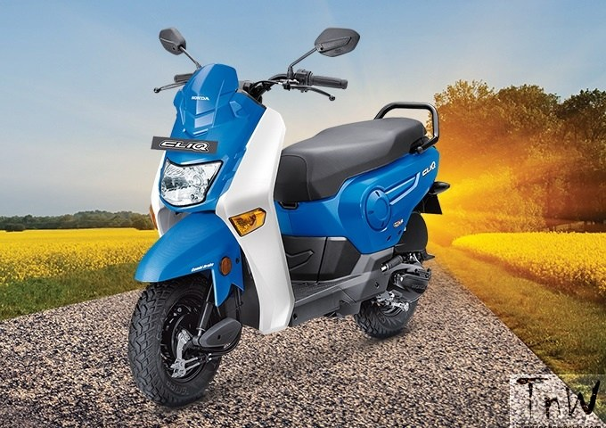 Honda launches Cliq 110 cc automatic scooter at INR 42,499/-