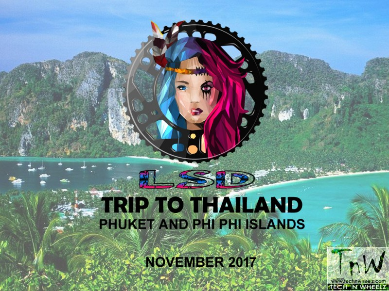 Lost Sojourn Drifters (LSD) announces tour to Phuket and Phi Phi Islands