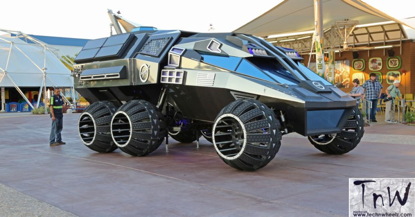 NASA Mars Rover Concept Vehicle unveiled at Kennedy Space Center