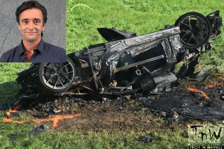 Richard Hammond survives crash while filming ' The Grand Tour' driving show