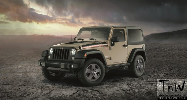 JEEP announces New Limited Edition WRANGLER RUBICON RECON