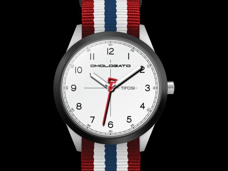 Omologato unveils #TIFOSI watches with motorsport design theme