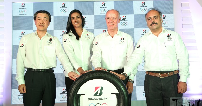 P.V. Sindhu announced as Bridgestone India's First Brand Ambassador